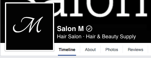 facebook business page verify checkmark