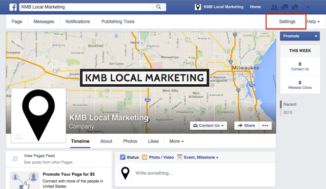 how to verify facebook business page
