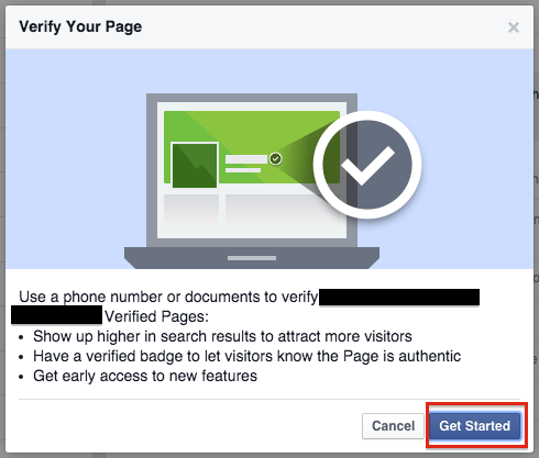 why verify facebook business pages